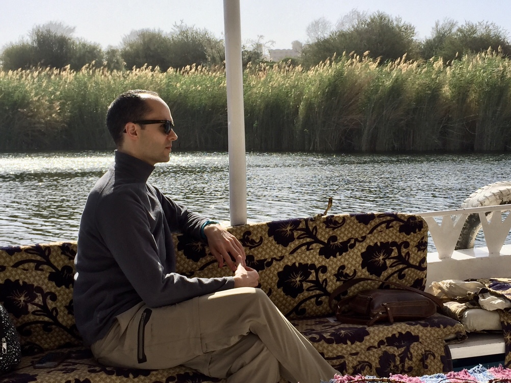 Boating around Aswan