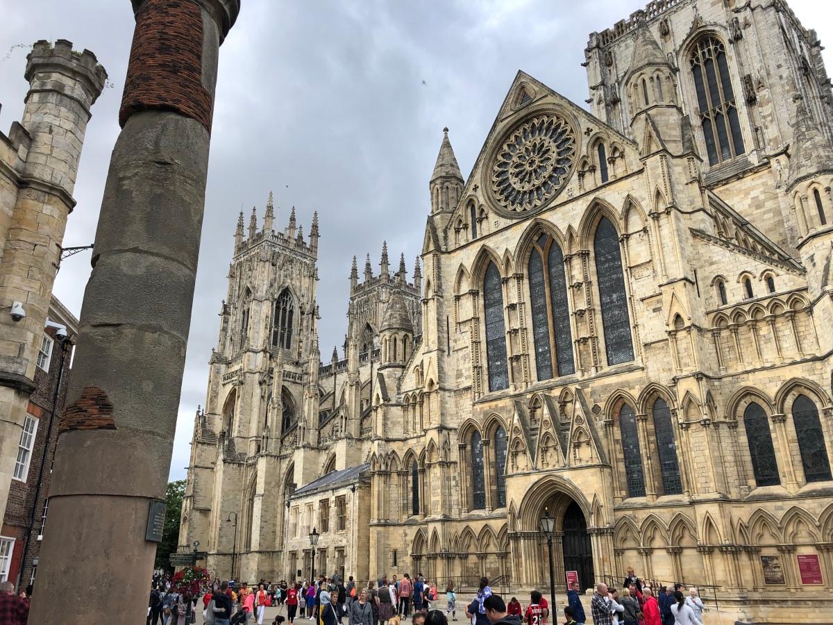 I'm in York!